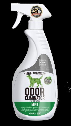 Reliq środek dezodorujący dla zwierząt mięta 450 ml